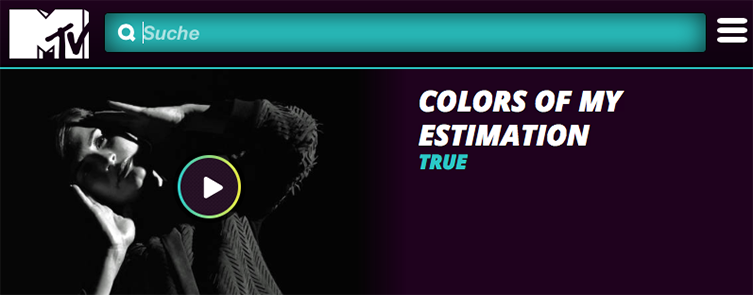 TRUE Colors Of My Estimation MTV